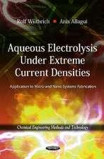 Aqueous Electrolysis Under Extreme Current Densities