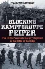 Blocking Kampfgruppe Peiper