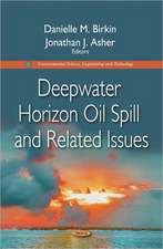 Deepwater Horizon Oil Spill & Related Issues