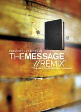 Message Remix-MS:  The Bible in Contemporary Language