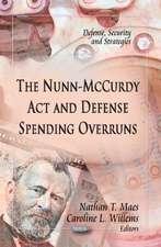 The Nunn-McCurdy Act & Defense Spending Overruns
