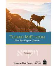 Torah Mietzion:  Vayikra
