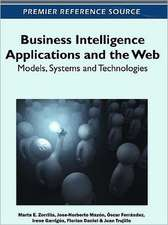 Business Intelligence Applications and the Web