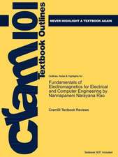 Studyguide for Fundamentals of Electromagnetics for Electrical and Computer Engineering by Rao, Nannapaneni Narayana, ISBN 9780136013334