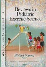 Reviews in Pediatric Exercise Science
