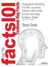 Studyguide for Data Mining the Web