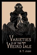 Varieties of the Weird Tale