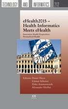 HAYN, D: EHEALTH2015 HEALTH INFORMATICS MEETS EHE