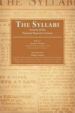 The Syllabi
