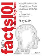 Studyguide for Introduction to Early Childhood Special Education