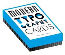 Modern Typography Notecards