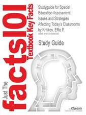 Studyguide for Special Education Assessment