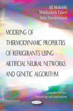 Modeling of Thermodynamic Properties of Refrigerants Using Artifical Neural Networks & Genetic Algorithm