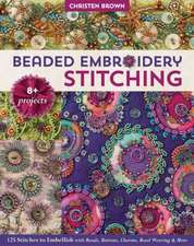 Beaded Embroidery Stitching