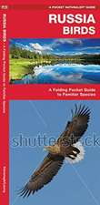 Russia Birds: A Folding Pocket Guide to Familiar Species