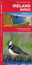 Ireland Birds, 2nd Edition: A Folding Pocket Guide to Familiar Species