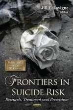 Frontiers in Suicide Risk