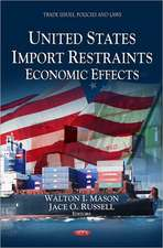U.S. Import Restraints