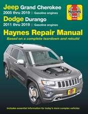 Jeep Grand Cherokee 2005 Thru 2019 and Dodge Durango 2011 Thru 2019 Haynes Repair Manual
