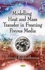 Modelling Heat & Mass Transfer in Freezing Porous Media