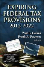Expiring Federal Tax Provisions 2012-2022