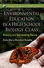 Environmental Education in a High School Biology Class
