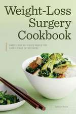Weight Loss Surgery Cookbook