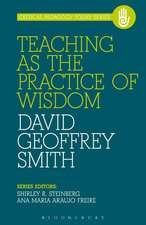 Teaching as the Practice of Wisdom