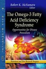 Omega-3 Fatty Acid Deficiency Syndrome