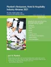 Plunkett's Restaurant, Hotel & Hospitality Industry Almanac 2021