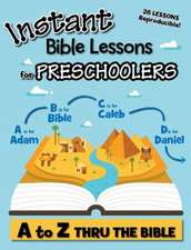 Whitney, L:  Instant Bible Lessons for Preschoolers