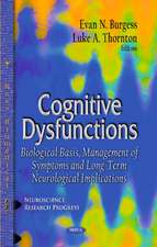 Cognitive Dysfunctions