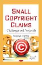Small Copyright Claims