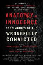 Anatomy of Innocence – Testimonies of the Wrongfully Convicted