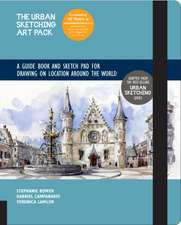 The Urban Sketching Art Pack: A Guide Book and Sketch Pad for Drawing on Location Around the World--Includes a 112-Page Paperback Book Plus 112-Page