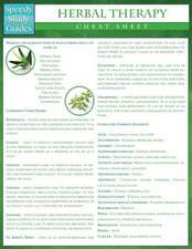 Herbal Therapy Cheat Sheet (Speedy Study Guides