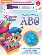 Nickelodeon's Shimmer and Shine Chalkboard ABC