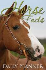 Horse Facts Daily Planner
