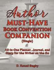 Author Must-Have Book Convention Companion (Single)