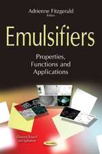 Emulsifiers: Properties, Functions & Applications