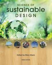 Science of Sustainable Design