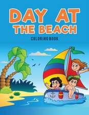 Day at the Beach Coloring Book