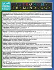 Astronomy Terminology (Speedy Study Guide)