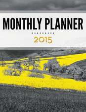 Monthly Planner 2015