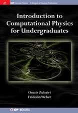 Introduction to Computational Physics for Undergraduates