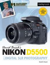 David Busch S Nikon D5500 Guide to Digital Slr Photography:  115 X-Pert Tips to Get the Most Out of Your Camera