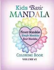 Kids Basic Mandala Coloring Book