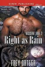 Right as Rain [Hidden Lake 2] (Siren Publishing Classic Manlove)