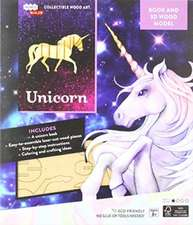 IncrediBuilds: Unicorn Book and 3D Wood Model