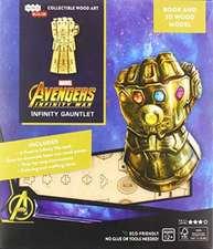 IncrediBuilds: Marvel: Infinity Gauntlet Book and 3D Wood Model
